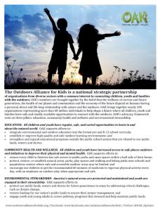 OAK's Advocacy Pillars