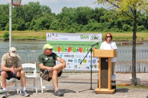 """[The America's Great Outdoors initiative] is beneficial for so many reasons; health, community, ecosystem restoration and most importantly the happiness and well-being of our children"" – Assistant. Secretary of the Army (Civil Works) Jo-Ellen Darcy"