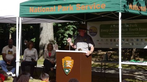 """During the National Park Service's centennial celebration, we want everyone to get to know their national parks, and we're offering a special invitation to fourth graders and their families to discover everything that national parks offer,"" said National Park Service Director Jonathan B. Jarvis. ""We hope these free passes for fourth graders will introduce 4th graders, their classes, and their families to our national treasures, places where they can run and play, explore and learn."""