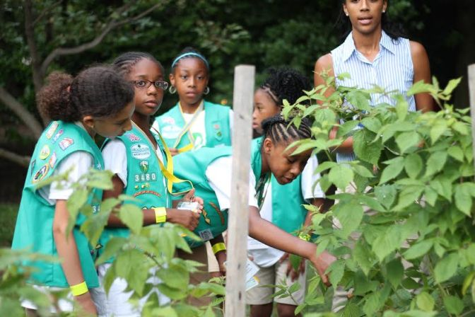 Girl Scouts Celebrate Women's History Month