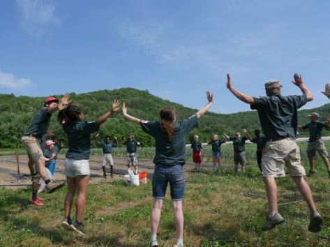Vermont Youth Conservation Corps, June, 2016. Photo Credit - The Corps Network